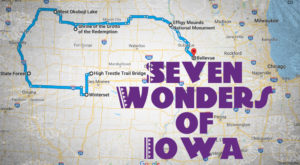 This Scenic Road Trip Takes You To All 7 Wonders Of Iowa