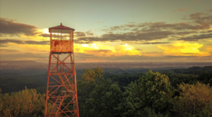Enjoy The View From The Top Of The World When You Climb Virginia's Most Beautiful Lookout Tower