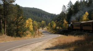 This 45-Mile Train Ride Is The Most Relaxing Way To Enjoy South Dakota Scenery