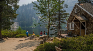 This Breathtaking Hike In Northern California Leads You To A Remote Cabin Resort