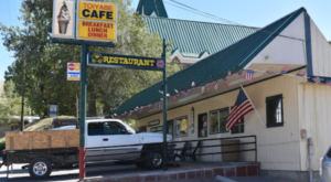 The Small Restaurant Hiding In The Middle Of A Nevada Ghost Town That's So Worth The Journey