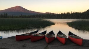 Spend The Day On This Overlooked Oregon Lake To Get Away From It All