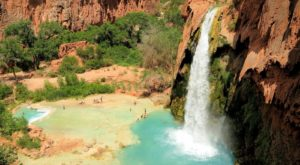 Most People Will Never See This Wondrous Waterfall Hiding In Arizona