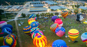 Spend The Day At This Hot Air Balloon Festival Near New Orleans For A Uniquely Colorful Experience