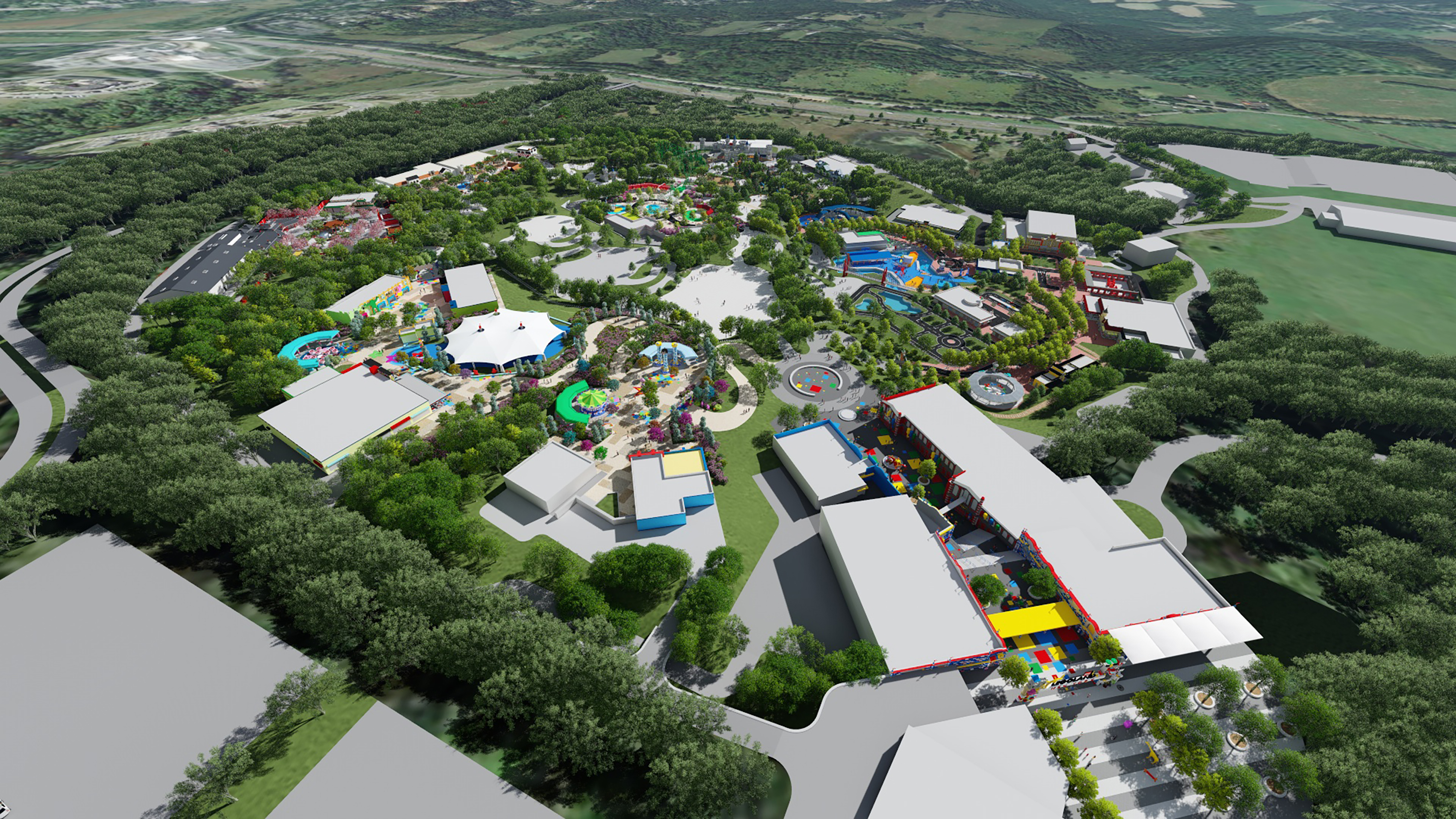 The World's Biggest Legoland Is Coming To New York