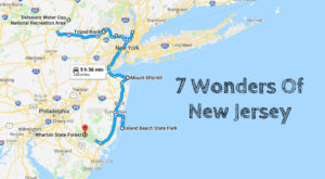 This Scenic Road Trip Will Take You To All 7 Wonders Of New Jersey