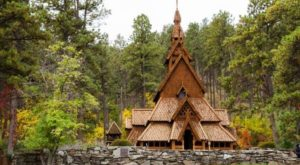 This Unique Wooden Church In South Dakota Is Truly A Sight To See