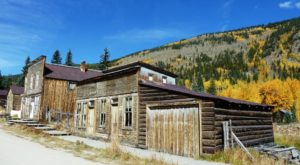 This Colorado Ghost Town Is Surrounded By Some Of The Most Vibrant Fall Foliage