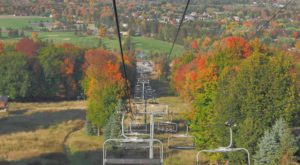 This Breathtaking Chair Lift Ride In Wisconsin Will Show You The Fall Colors Like Never Before