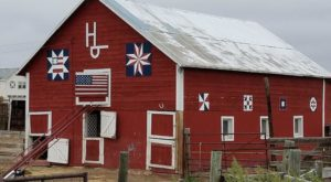 The Largest Quilt Barn In Wyoming Is Truly A Sight To See