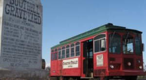 This Haunted Trolley In Arizona Will Take You Somewhere Absolutely Terrifying