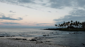 Hawaii's Black And White Pebble Beach Will Make You Feel A Thousand Miles Away From It All