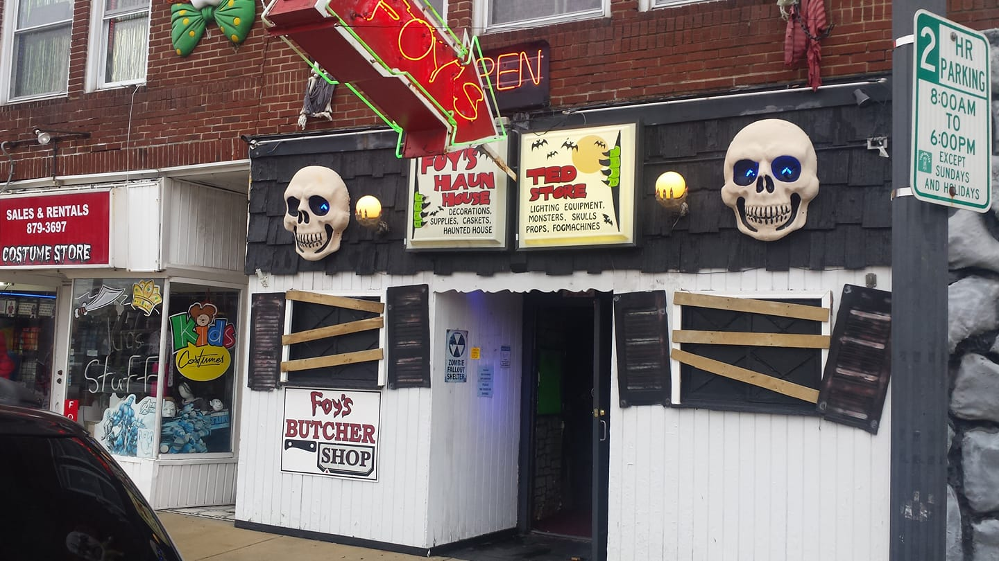 the best halloween store in ohio: foy's halloween and variety store