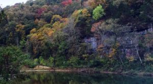 This Magical Hike Through A Missouri Forest Is Unexpectedly Colorful