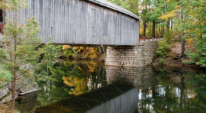 The Majority Of Maine's Covered Bridges Can Be Found In This Jaw Dropping Region