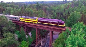 This 30-Mile Train Ride Is The Most Relaxing Way To Enjoy Minnesota Scenery