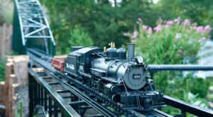 Few People Know About This Incredible Garden Railroad Right Here In Pennsylvania