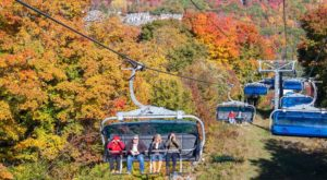 6 Chairlifts In Vermont Where You Can Glide Through The Vibrant Fall Foliage