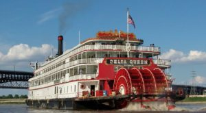 This Restaurant In Northern California Used To Be A Riverboat And You'll Want To Visit