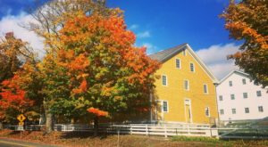The Tiny Shaker Town In New Hampshire That's The Perfect Day Trip Destination