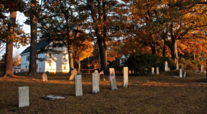 You Won't Want To Drive Through The Most Haunted Town In Maine At Night Or Alone