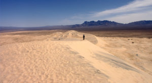 The Sand Dune Hike In Southern California That Will Make You Feel Like You've Landed On Another Planet