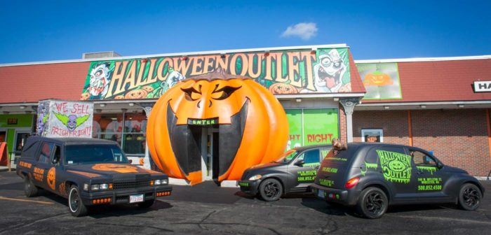 halloween outlet is a giant store in worcester that sells everything you need for a ghoulishly good time