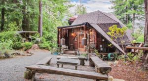 This Whimsical Cabin In Northern California Is Perfect For When You Need To Get Away From It All