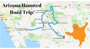 This Haunted Road Trip Will Lead You To The Scariest Places In Arizona