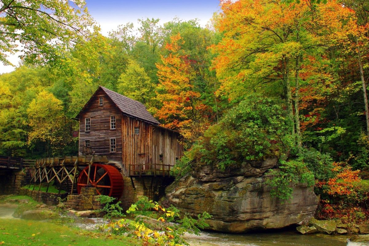 A Trip To This Charming Working Mill In West Virginia Is