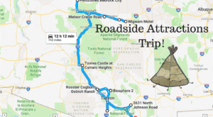 Take This Quirky Road Trip To Visit Arizona's Most Unique Roadside Attractions