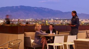 This Hotel Has One Of The Best Rooftop Restaurant Views In The Southwest