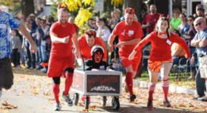 There's Nothing Else Quite Like This Creepy Casket Race In Illinois