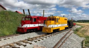 The Pumpkin Ranch In Indiana That Has Amazing One-Mile Miniature Train Rides