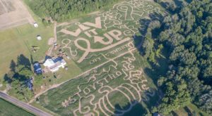 Everyone Gets Lost In The 11-Acre Corn Maze At This Classic Fall Farm In Indiana
