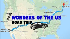 The Scenic Road Trip That Takes You To All 7 Wonders Of The US