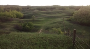 This Sandy Hills Campground In North Dakota Is So Hidden You'll Probably Have It All To Yourself
