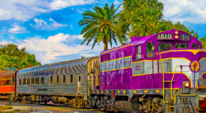 This 20-Mile Train Ride Is The Most Relaxing Way To Enjoy Florida Scenery