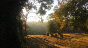 You Might Just Spot A Ghost At The Most Haunted Cemetery In North Carolina