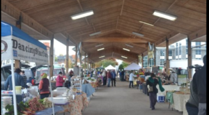 A Trip To This Charming Indoor Farmers Market in Virginia Will Make Your Weekend Complete