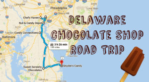 The Sweetest Road Trip in Delaware Takes You To 7 Old School Chocolate Shops