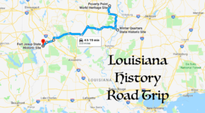 This Road Trip Takes You To The Most Fascinating Historical Sites In All Of Louisiana
