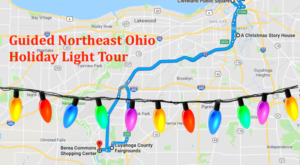 Take This Guided Northeast Ohio Holiday Lights Tour For A Day Of Pure Magic