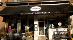 People Drive From All Over For The Waffles At This Charming New York Restaurant