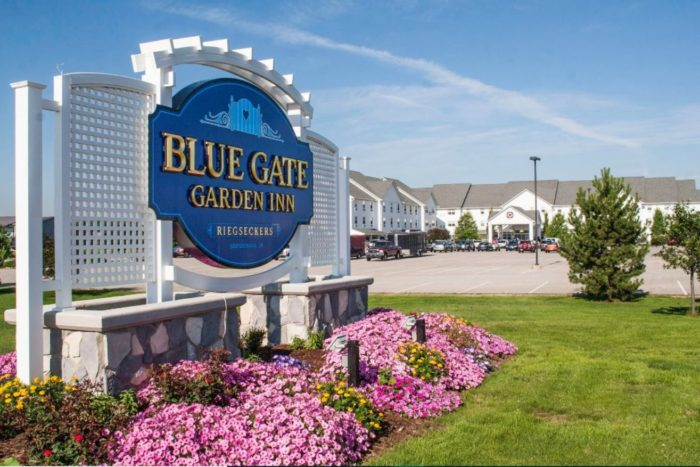 Blue Gate Garden In Shipshewana Indiana Is An Amish Bed
