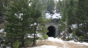 Follow This Abandoned Railroad Trail For One Of The Most Unique Hikes In Montana