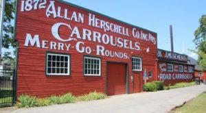 The Enchanting Carousel Factory Near Buffalo The Whole Family Will Love Exploring
