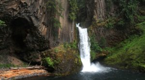 This Easy Oregon Hike Is Less Than A Mile And Takes You Straight To A Hidden Waterfall