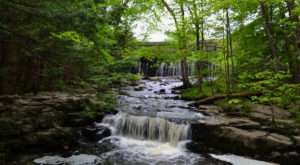 Your Kids Will Love This Easy 2-Mile Waterfall Hike Right Here In Maine