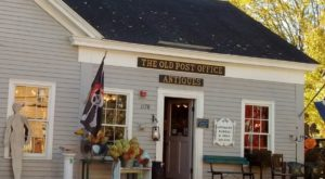 This 2-Story Antique Shop In Rhode Island Used To Be An Old Post Office